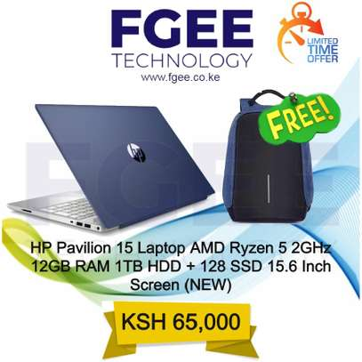 Hp Pavilion 15 Laptop Amd Ryzen 5 2500u 2ghz 12gb Ram 1tb Hdd 128 Ssd 15 6 Inch Screen In Nairobi Pigiame