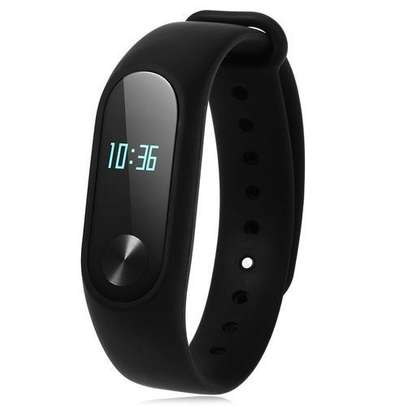 M2 New Smart Health Wrist Bracelet Heart Rate Monitor -Black image 1