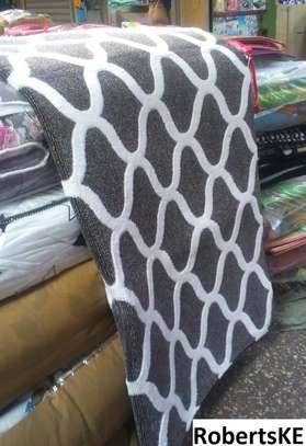 grey smooth carpet 7*8 image 1