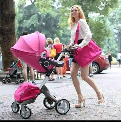 LUXUROUS TRAVEL SYSTEM - Premium Quality Stroller, A Travel Bag & Bassinet image 5