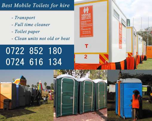 Affordable Mobile Toilets For Weddings & Events