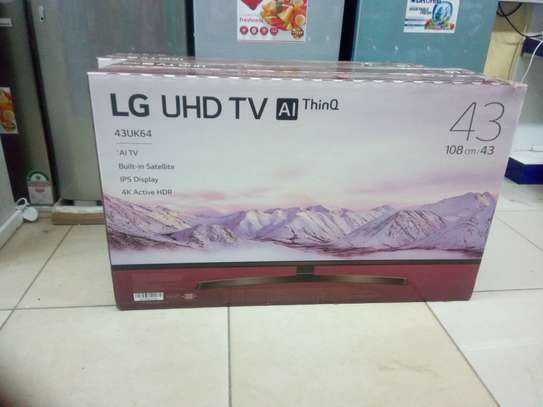 Lg 43 inches ultra HD 4K image 1