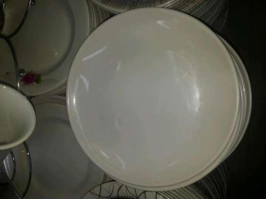 12pc Melamine dinner plates/Extra heavy melamine plate/12pc Plates image 3