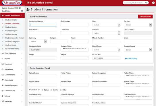 School Management  ERP System image 10