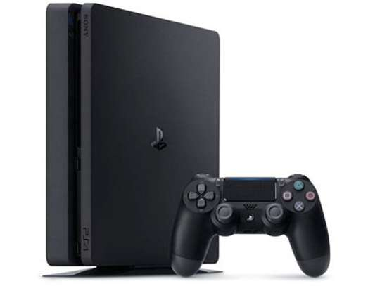 Sony PS4 1TB slim with one pad image 1