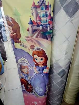 Kids cartoon themed curtains image 4