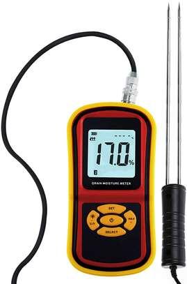 LCD Display Digital Grain Moisture Meter Humidity Wheat Corn Rice Bean Tester image 6