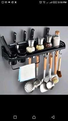 Aluminum kitchen shelf image 1