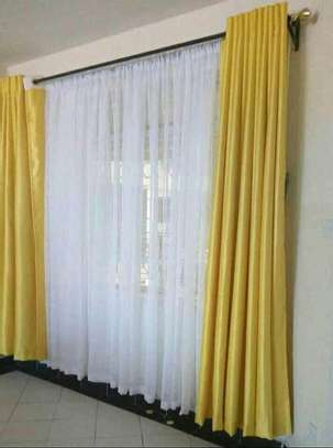 Curtains and Matching sheers image 6