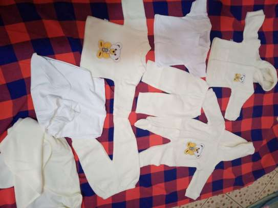 8pc baby fleece set