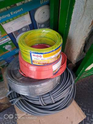 Electrical cables available all sizes image 1