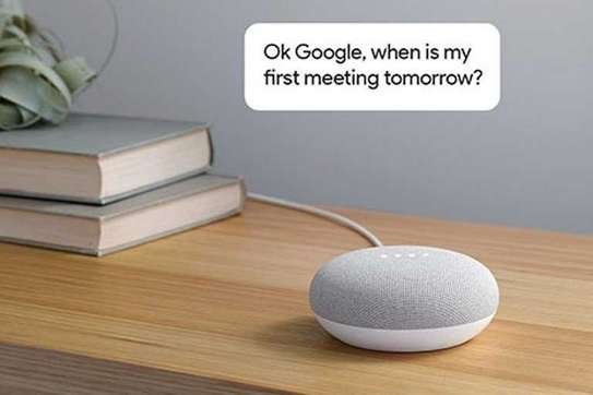 Google Home Mini-[Chalk] WWD image 3