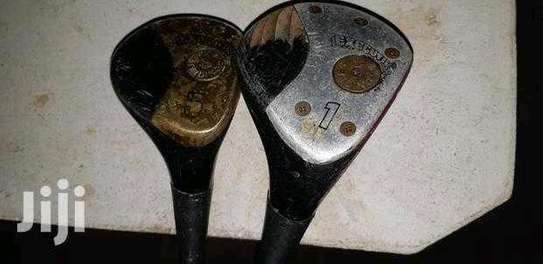 Assortment Of Golf Clubs. image 11
