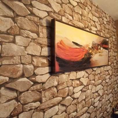 Bright surface self adhesive wallpaper image 7