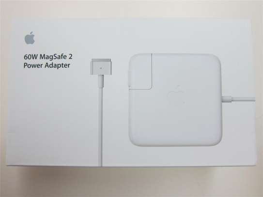 Apple 60W MagSafe 2 Power Adapter Charger A1435 MacBook Pro Air image 1