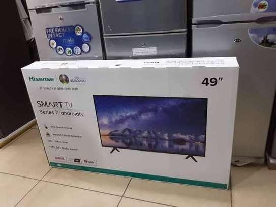 49 inch Hisense Smart  Television New 2020 image 1