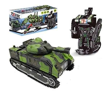 Tank warrior convertible robot image 2