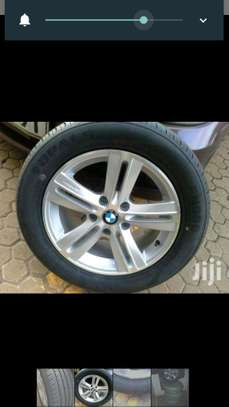 4 BMW Tyres with Alloy Rims