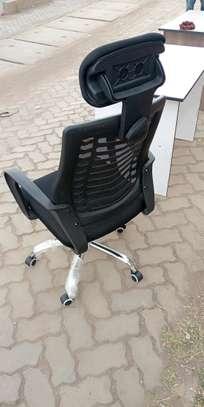 Professional ergonomic headrest office computer chair image 1