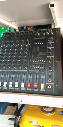 Max 6 Channel music Mixer Black image 1