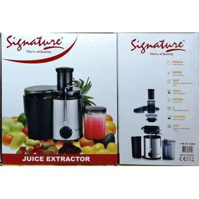 Signature Juice Extractor/Juicer image 2