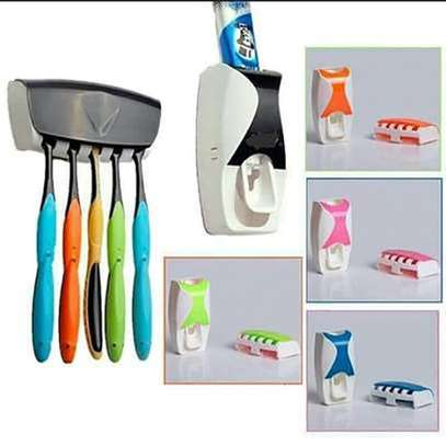Toothpaste Dispenser-RAndom Colour image 1