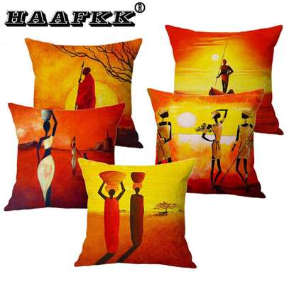 AFRICAN THEME PILLOWS image 2