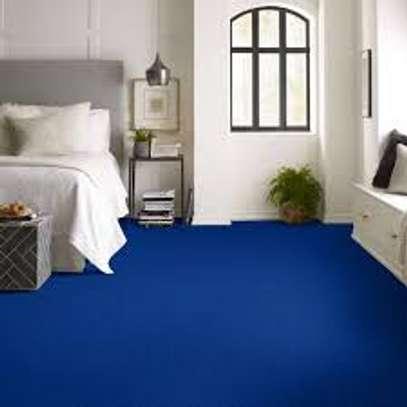 wall to wall carpet. image 1