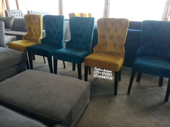 Classic six seater dining table set for sale in Nairobi Kenya/dining chairs image 1