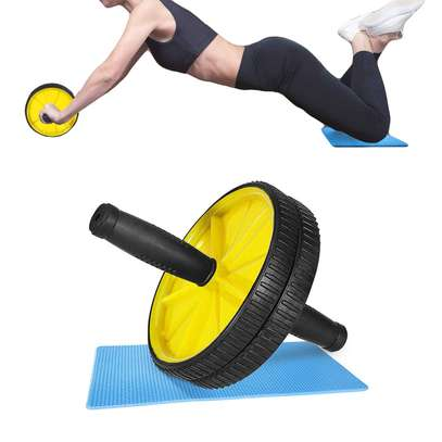 AB Wheel Abs Roller Workout Arm And Waist Fitness Exerciser Wheel