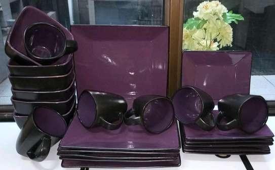 Ceramic dinner plates image 1