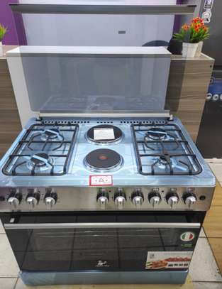 Masterchef 90x60 cookers 2 electric plates 4 Gas bunners image 1