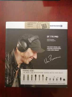 beyerdynamic DT 770 Pro 80 Limited Edition Black image 1