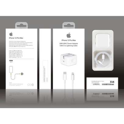 Apple Original iPhone 12 mini/12/12 Pro/12 Pro Max 20W USB-C Power Adapter Type-C to Lightning Fast Charger for iPhone image 5