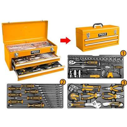 Ingco 97 Pcs Tool Chest Set