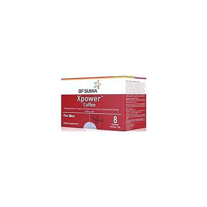 Xpower Coffee For Men; 8 Sachets/ Box, By BF Suma image 1