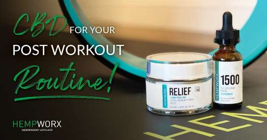 RELIEF Cream by Hempworx