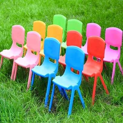 Kindergarten Plastic Chairs image 1