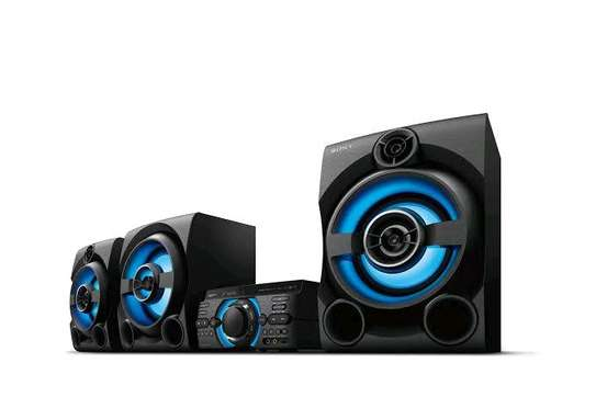 Sony MHC-M80D High Power Audio System(2150W RMS)- Pair Up To 3 Smart Phones image 1