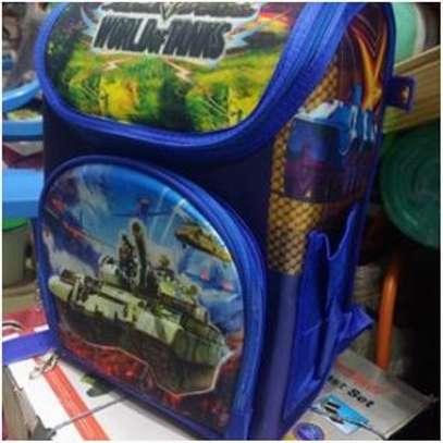 Kids collapsible/foldable antitheft bag image 1
