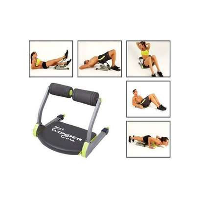 Wonder Core Smart 6 In 1 ABS Fitness Full Body Workout Machine- Muscle Toning And Cardio System image 1