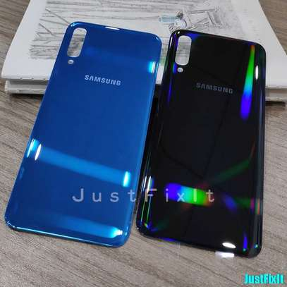 Battery Cover Replacement Back Door Housing Case For Samsung Galaxy A70 A60 A50 A40 A30 A20 A10 image 3