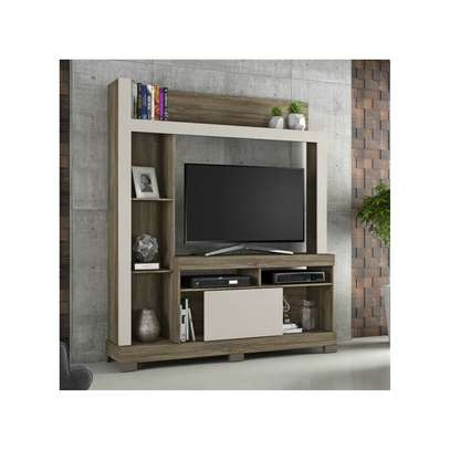 TV Wall Unit Rack Bela NT1025 - TV space up to 43'' - CINNAMON/SAND image 2