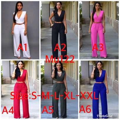 Ladies classy casual and official jumpsuits image 4