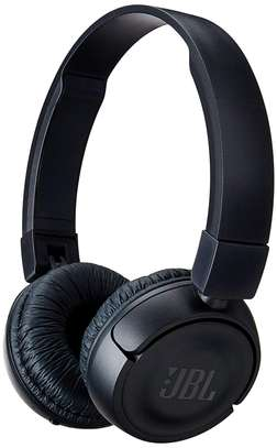 JBL T450BT Wireless On-Ear Headphones with Built-in Remote and Microphone (Black) image 1