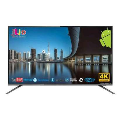 Nobel 55 inches smart UHD Android TV image 1