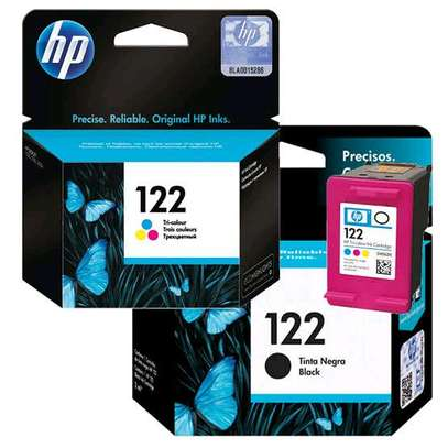 122 inkjet cartridge black and coloured refills CH562HE