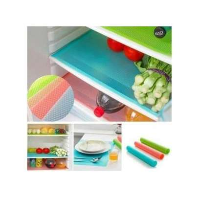 Colorful Fridge Mats - 4 Pieces image 3