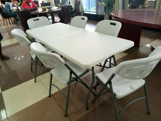Foldable dining sets image 1