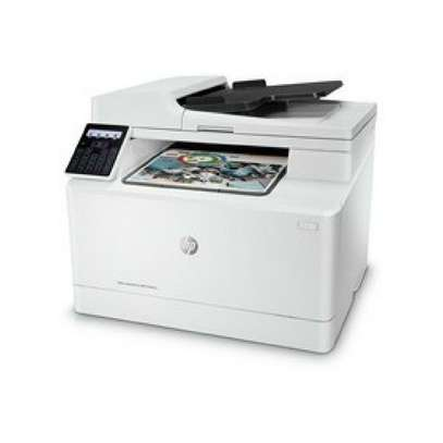 HP Color Laser Jet Pro MFP M181fw Multi function printer+Free Printer Cable image 1